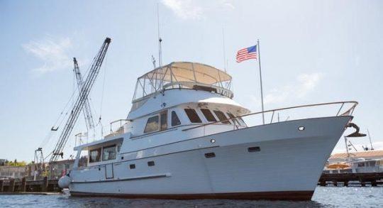 60′ 1979 C&L Marine Raised Pilothouse Trawler