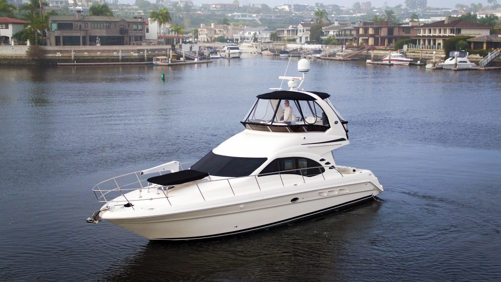 Sea Ray 420 Sedan Bridge The Up Side Alexander Marine Usa