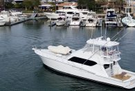 60′ 2001 Hatteras Convertible 'Our Trade'