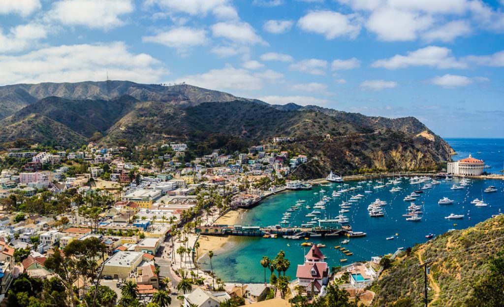 Cruising to Catalina Island
