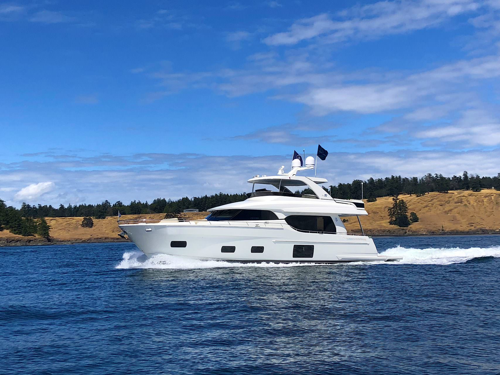 70 2018 Ocean Alexander Evolution 70e15 Marine Usa Sea Ray Boat Wiring Diagram Inverter