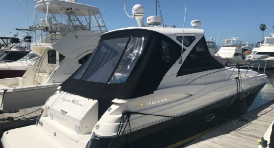 38' 2007 Regal 3760 IB Commodore 'Cajun Blonde'