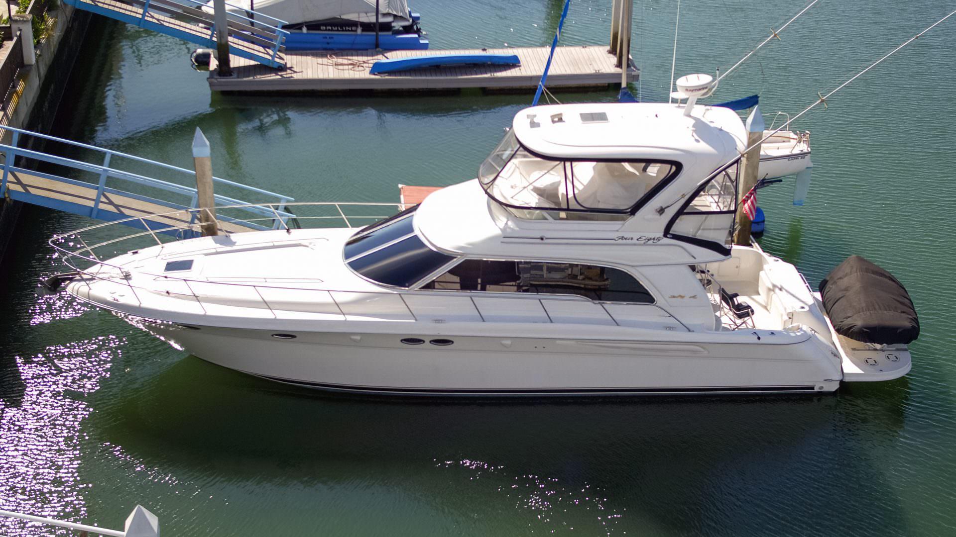 48 2001 Sea Ray 480 Sedan Bridge Alexander Marine Usa Boat Wiring Diagram Inverter