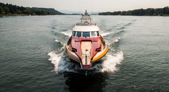 71' 1996 Admiral Custom Motoryacht 'Shaken Knot Stirred'