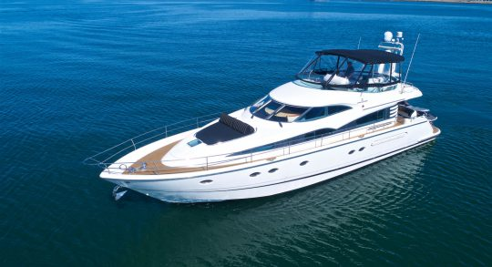 64' 1999 Fairline Squadron 62 'Compass Rose'