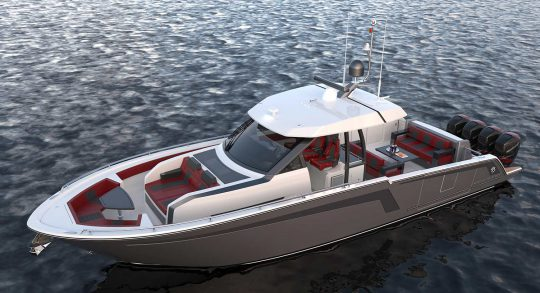 45' 2019 Ocean Alexander 45D07