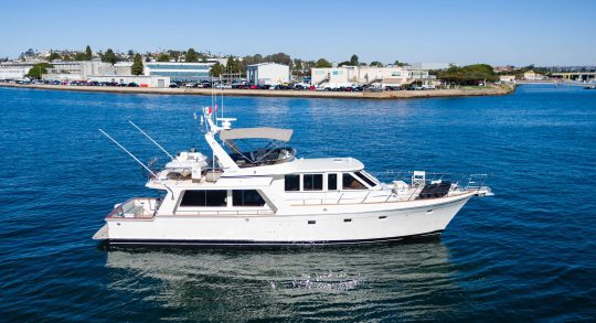 58' 1996 Offshore Pilothouse
