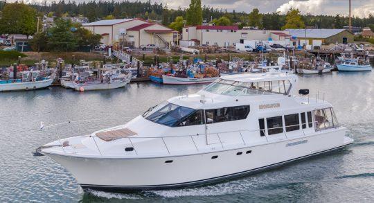 65' 2000 Pacific Mariner 'Rhondavous'