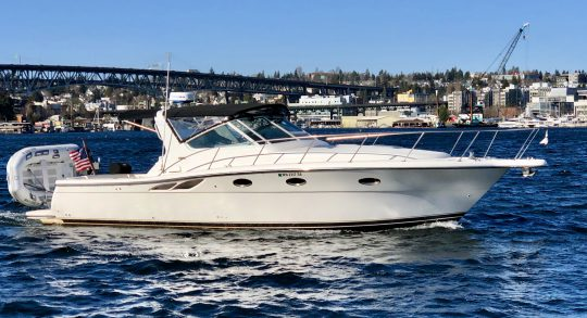 35' 2000 Tiara 3500 Open 'Salty Dawg'