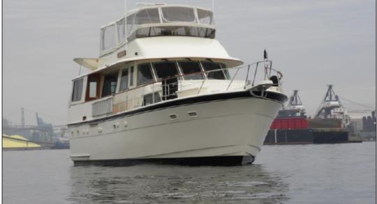 56' 1981 Hatteras Motor Yacht 'JAHA'