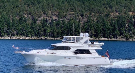 58' 2005 Ocean Alexander Pilothouse 'Journey'