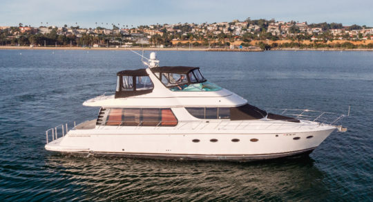 57' 2002 Carver Voyager Pilothouse
