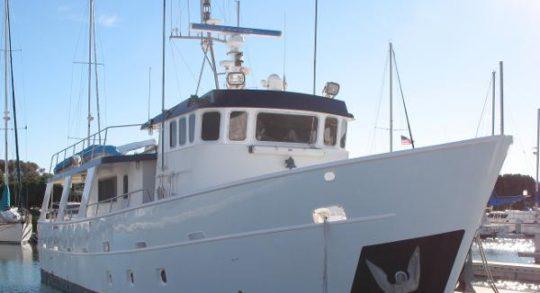 61' 1991 Custom Trawler 'Rising Wolf'